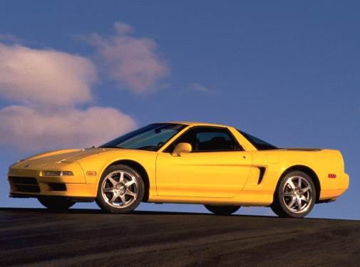 Top Consumer Rated Coupes of 2000 - 2000 Acura NSX