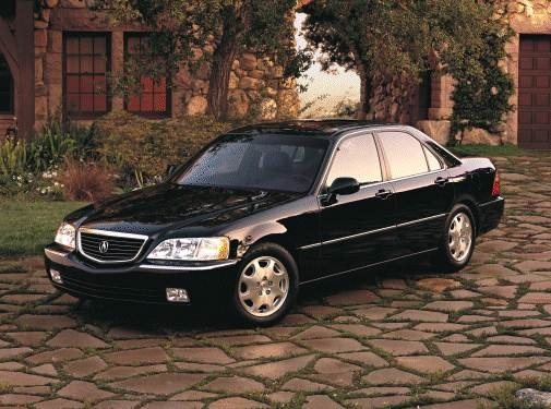 Top Consumer Rated Sedans of 2000 - 2000 Acura RL