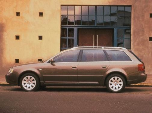 Most Popular Wagons of 2000 - 2000 Audi A6