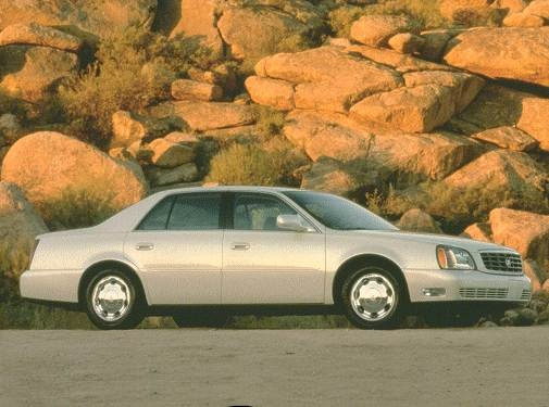 Most Popular Luxury Vehicles of 2000 - 2000 Cadillac DeVille