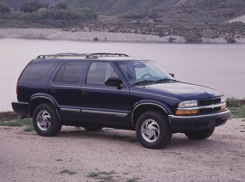 Most Popular SUVS of 2000 - 2000 Chevrolet Blazer