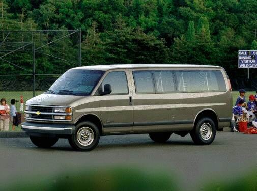 Highest Horsepower Van/Minivans of 2000 - 2000 Chevrolet Express 2500 Passenger