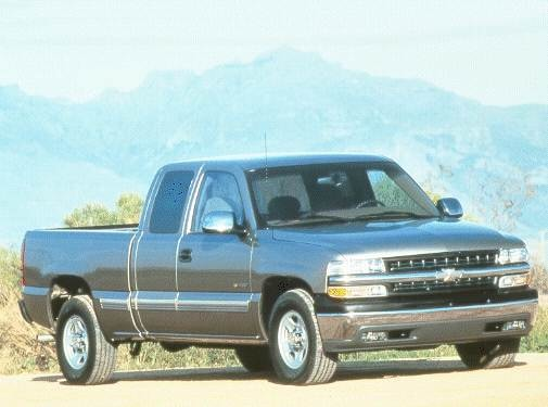 Top Consumer Rated Trucks of 2000 - 2000 Chevrolet Silverado 1500 Extended Cab