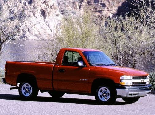 Top Consumer Rated Trucks of 2000 - 2000 Chevrolet Silverado 1500 Regular Cab