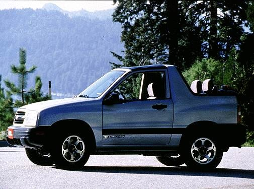 Most Fuel Efficient SUVS of 2000 - 2000 Chevrolet Tracker