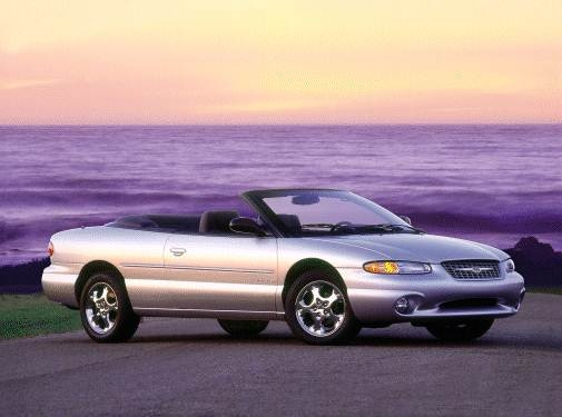 Most Fuel Efficient Convertibles of 2000 - 2000 Chrysler Sebring