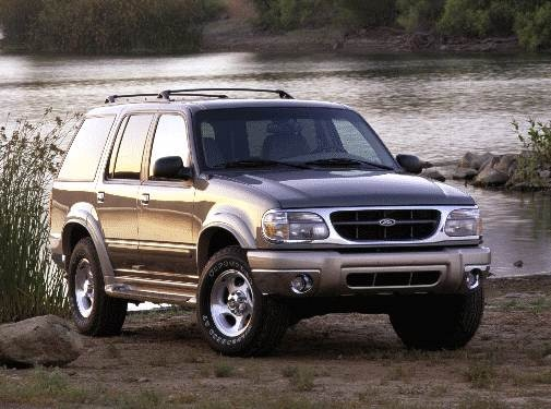 Most Popular SUVS of 2000 - 2000 Ford Explorer