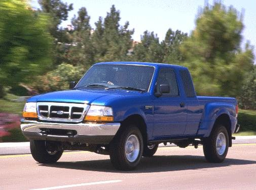 Most Fuel Efficient Trucks of 2000 - 2000 Ford Ranger Super Cab