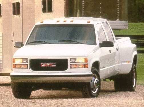 Top Consumer Rated Trucks of 2000 - 2000 GMC Sierra (Classic) 3500 Crew Cab