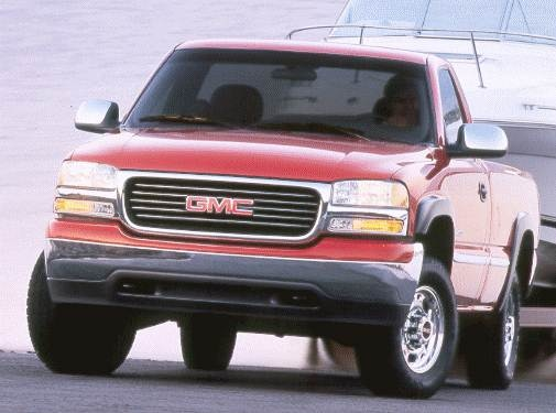 Top Consumer Rated Trucks of 2000 - 2000 GMC Sierra 2500 HD Regular Cab