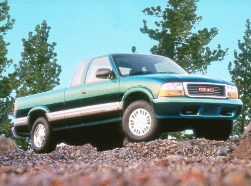 Most Fuel Efficient Trucks of 2000 - 2000 GMC Sonoma Extended Cab