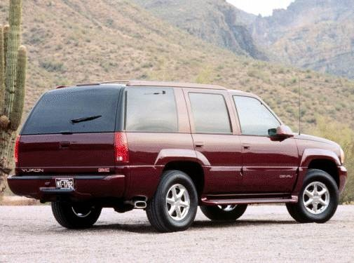 Most Popular SUVS of 2000 - 2000 GMC Yukon Denali