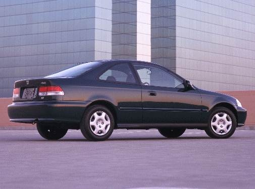 Most Fuel Efficient Coupes of 2000 - 2000 Honda Civic