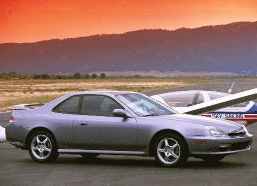 Top Consumer Rated Coupes of 2000 - 2000 Honda Prelude
