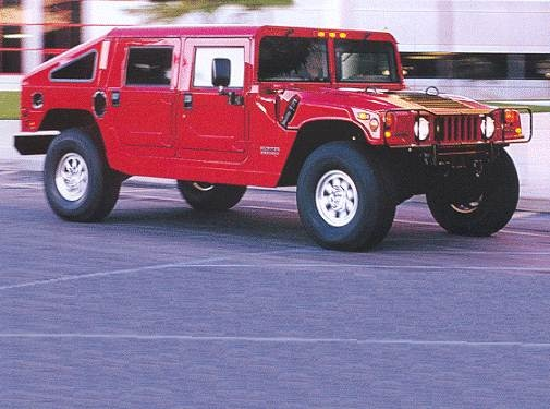Top Consumer Rated Wagons of 2000 - 2000 HUMMER H1