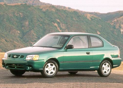 Most Fuel Efficient Coupes of 2000 - 2000 Hyundai Accent