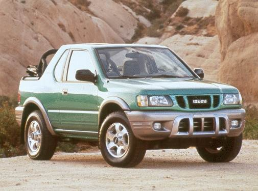 Most Fuel Efficient SUVS of 2000 - 2000 Isuzu Amigo