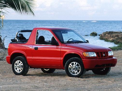Most Popular Crossovers of 2000 - 2000 Kia Sportage