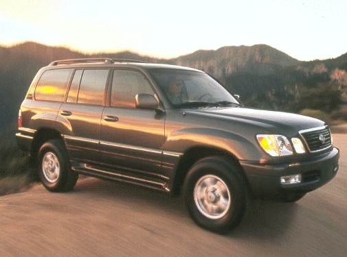 Top Consumer Rated Luxury Vehicles of 2000 - 2000 Lexus LX