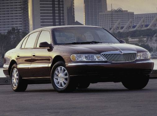 Top Consumer Rated Sedans of 2000 - 2000 Lincoln Continental