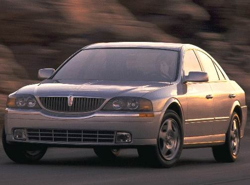 Most Popular Luxury Vehicles of 2000 - 2000 Lincoln LS