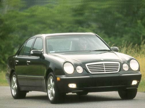 Most Popular Luxury Vehicles of 2000 - 2000 Mercedes-Benz E-Class