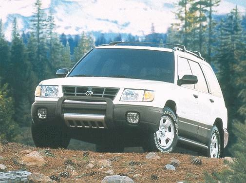 Most Fuel Efficient SUVS of 2000 - 2000 Subaru Forester