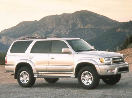 Most Fuel Efficient SUVS of 2000 - 2000 Toyota 4Runner