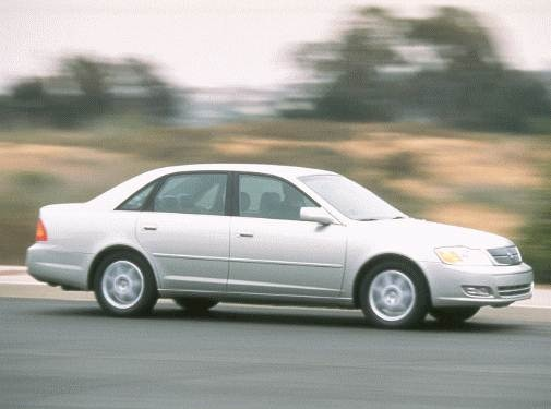 Top Consumer Rated Sedans of 2000 - 2000 Toyota Avalon