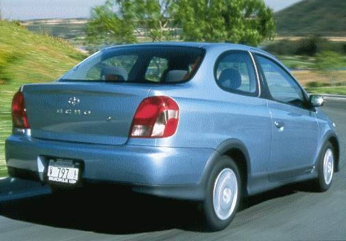 Top Consumer Rated Coupes of 2000 - 2000 Toyota Echo
