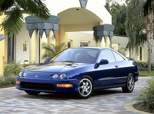 Most Fuel Efficient Hatchbacks of 2001 - 2001 Acura Integra