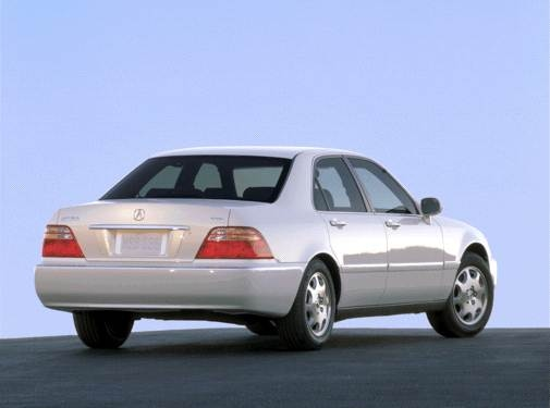 Top Consumer Rated Sedans of 2001 - 2001 Acura RL