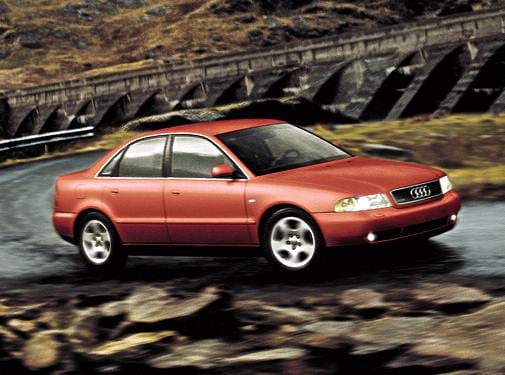 Most Popular Luxury Vehicles of 2001 - 2001 Audi A4