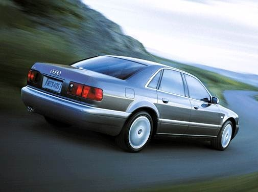 Top Consumer Rated Sedans of 2001 - 2001 Audi S8