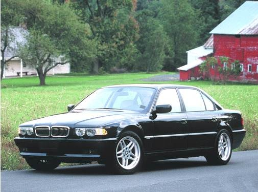 Highest Horsepower Sedans of 2001 - 2001 BMW 7 Series