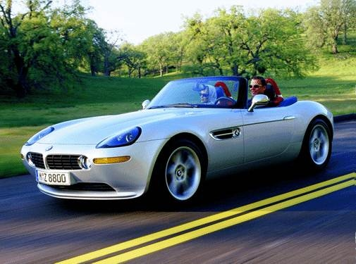 Highest Horsepower Convertibles of 2001 - 2001 BMW Z8
