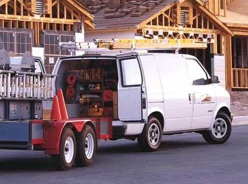 Most Popular Van/Minivans of 2001 - 2001 Chevrolet Astro Cargo