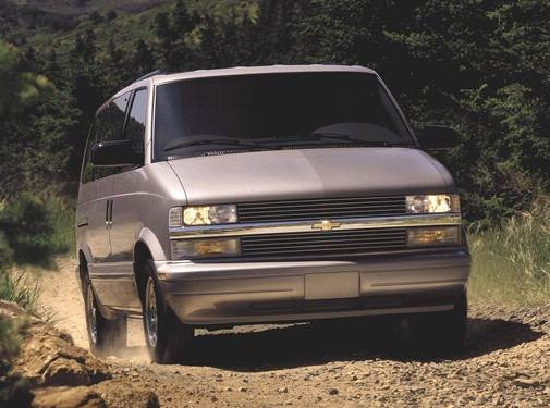 Most Popular Van/Minivans of 2001 - 2001 Chevrolet Astro Passenger