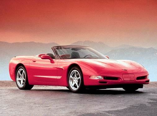Highest Horsepower Convertibles of 2001 - 2001 Chevrolet Corvette