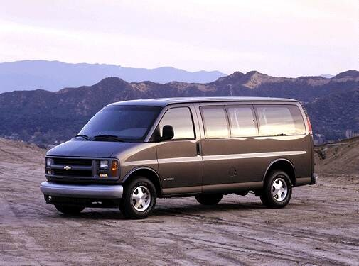 Top Consumer Rated Van/Minivans of 2001 - 2001 Chevrolet Express 2500 Passenger