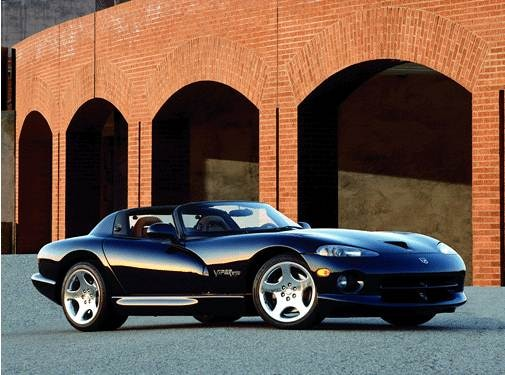 Highest Horsepower Convertibles of 2001 - 2001 Dodge Viper