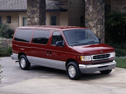 Top Consumer Rated Van/Minivans of 2001 - 2001 Ford Econoline E150 Passenger