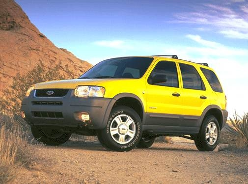 Most Popular Crossovers of 2001 - 2001 Ford Escape