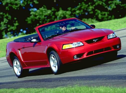 Highest Horsepower Convertibles of 2001 - 2001 Ford Mustang