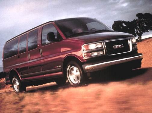 Top Consumer Rated Van/Minivans of 2001 - 2001 GMC Savana 1500 Passenger