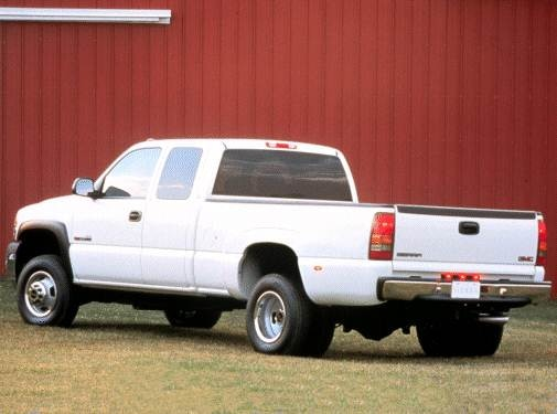 Most Popular Trucks of 2001 - 2001 GMC Sierra 2500 Extended Cab