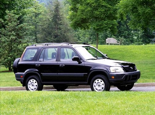 Top Consumer Rated Crossovers of 2001 - 2001 Honda CR-V