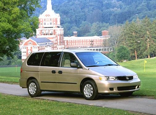 Most Popular Van/Minivans of 2001 - 2001 Honda Odyssey