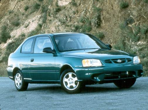 Most Popular Hatchbacks of 2001 - 2001 Hyundai Accent