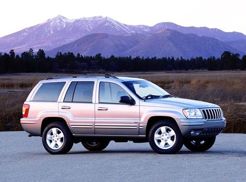 Most Popular SUVS of 2001 - 2001 Jeep Grand Cherokee